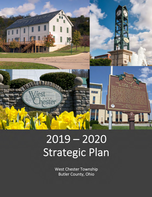 2019-2020 Strategic Plan (cover art)